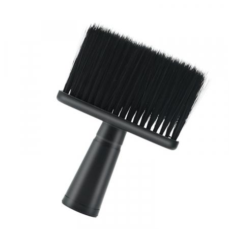 Pamatuf profesional negru pentru frizerie