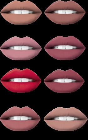 Ruj lichid mat + creion Eveline Oh! My lips [1]