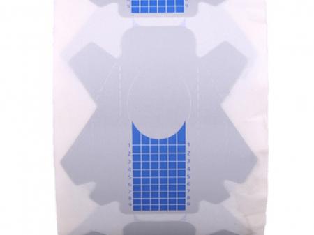 Sabloane constructie unghii albastre 500 buc. [1]