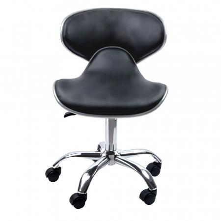 Scaun pentru frizerie sau salon Lila Rossa LZY-126 din piele ecologica [1]