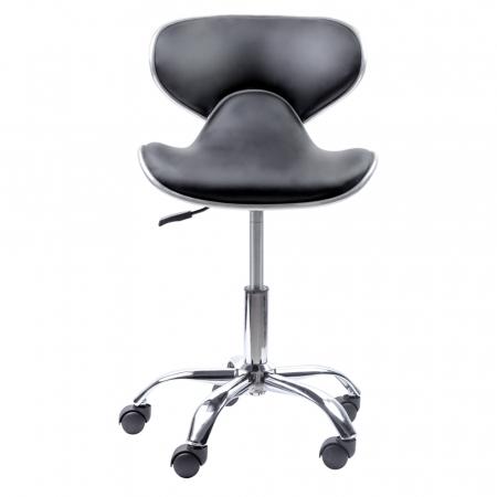 Scaun pentru frizerie sau salon Lila Rossa LZY-126 din piele ecologica [0]