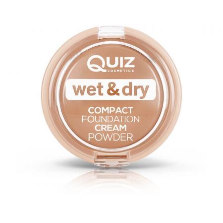 Pudra cremoasa compacta Quiz Wet & Dry [0]