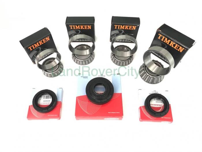 Set 4 Rulmenti Timken & 3 Simeringuri Corteco Diferential Spate [0]