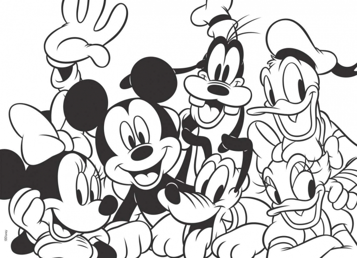 Puzzle Mickey Mouse (60 piese) 1