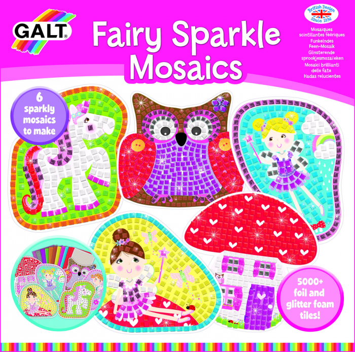 Set creativ - Mozaic Fairy Friends 2