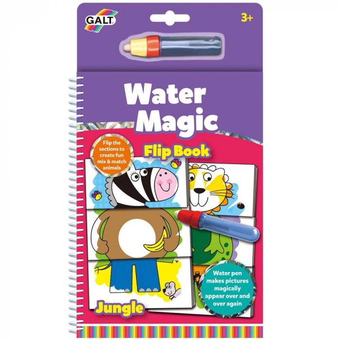 Water Magic: Carte de colorat Jungla vesela 1