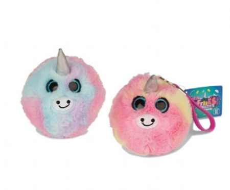 Jucarie Squishy pufoasa din plus - Unicorn1