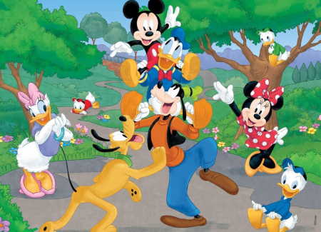 Puzzle Mickey Mouse (60 piese)2