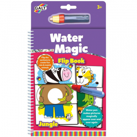 Water Magic: Carte de colorat Jungla vesela1