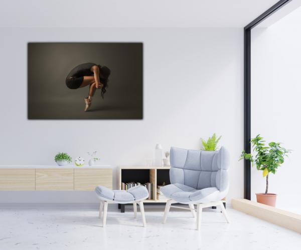 Tablou modern pe panou - ballet dancer 4