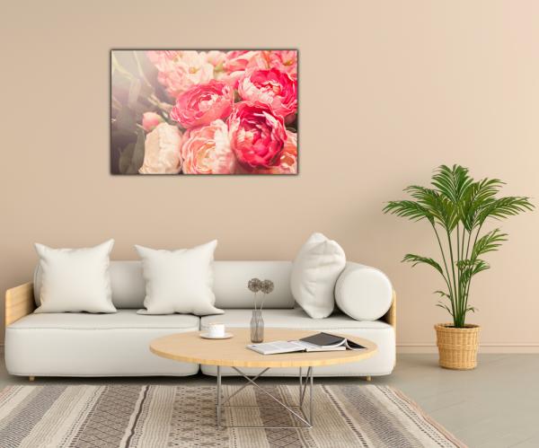 Tablou modern pe panou - blooming flowers 2