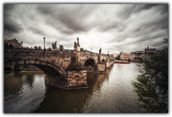 Tablou modern pe panou - Charles bridge Prague 0