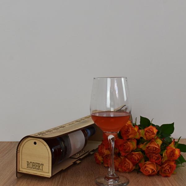 Cutie de vin personalizata - CDV004 2