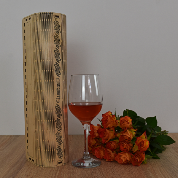 Cutie de vin personalizata - CDV004 0