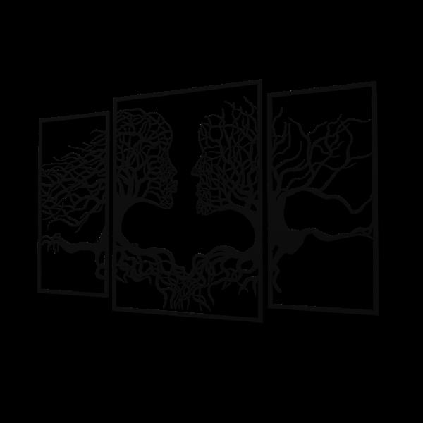 Decoratiune perete - Suflete pereche [0]