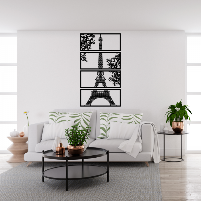 Decoratiune perete - Turnul Eiffel [1]