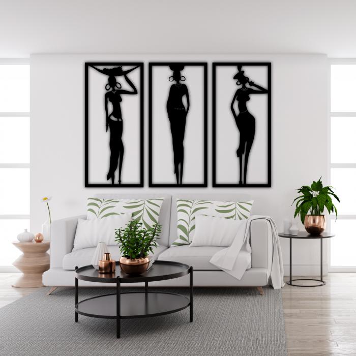 Decoratiune perete - Regina Africii [1]