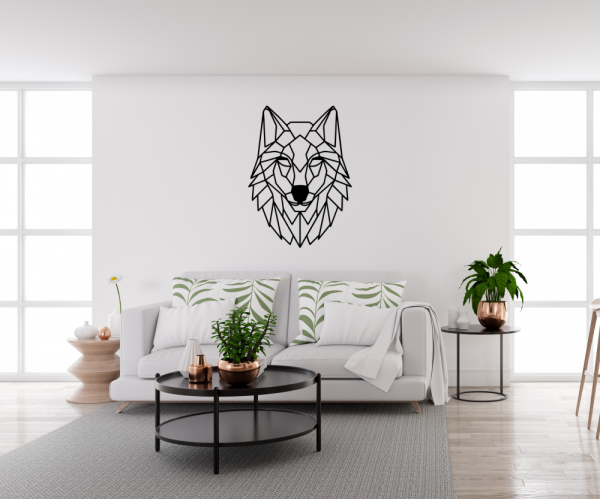 Decoratiune perete - Wolf 1