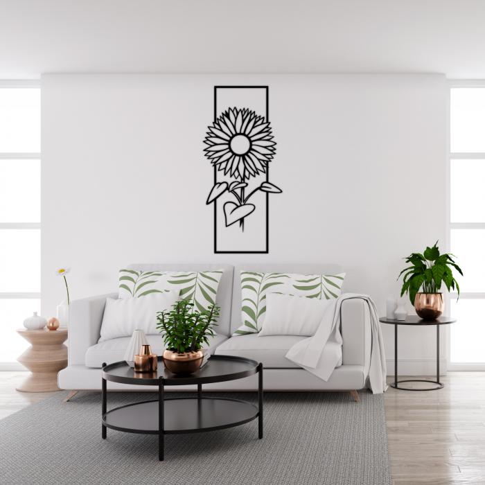 Decoratiune perete - Sunflower 1