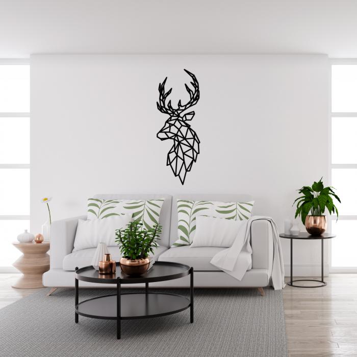 Decoratiune perete - Polygonal deer 1