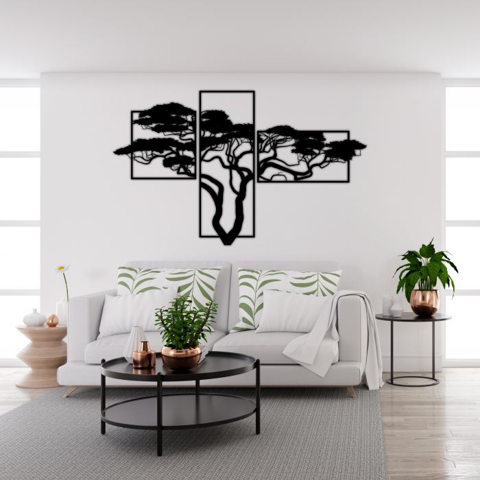 Decoratiune perete - African tree 1