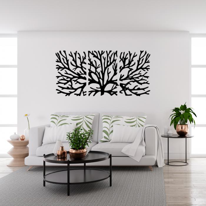 Decoratiune perete - Tree branches multiple panels 1