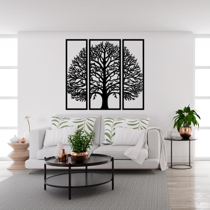 Decoratiune perete - Multiple tree panels 1