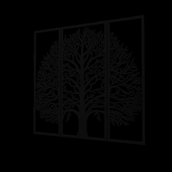 Decoratiune perete - Multiple tree panels 0