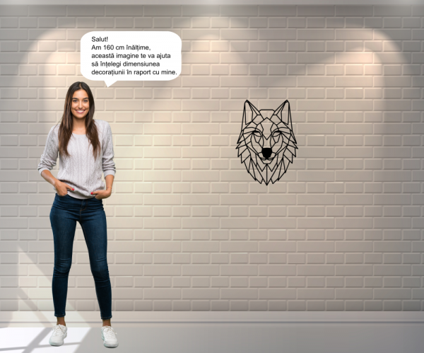 Decoratiune perete - Wolf 2
