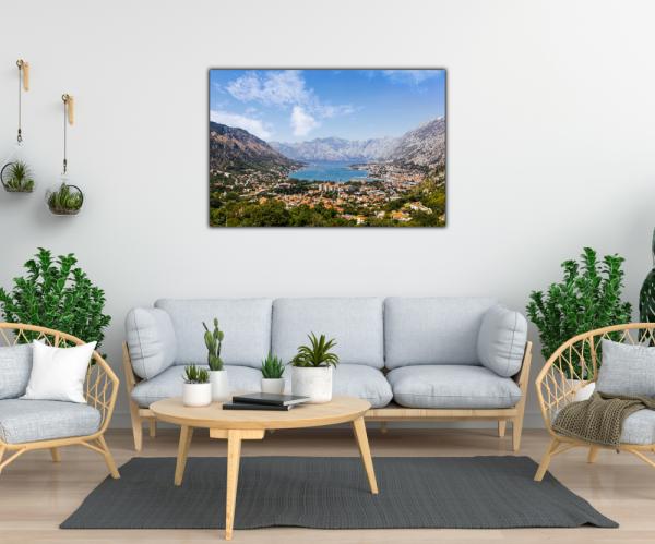 Tablou modern pe panou - Bay of Kotor 1