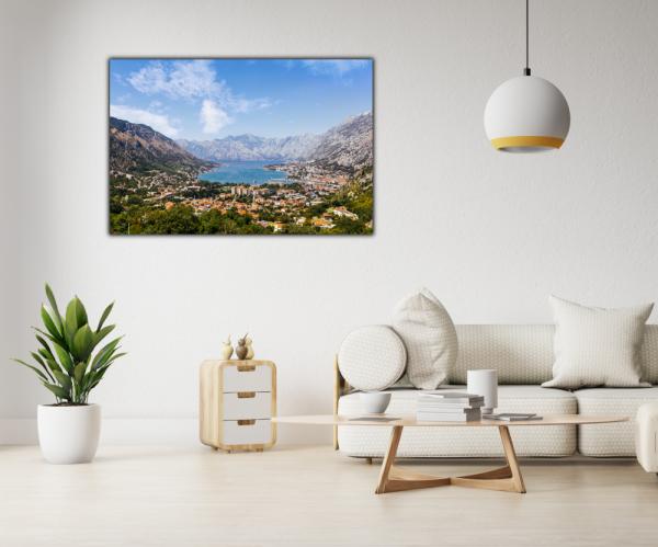 Tablou modern pe panou - Bay of Kotor 3