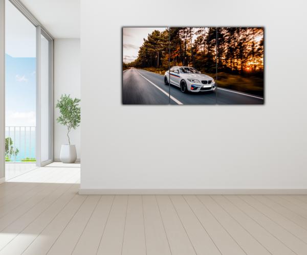 Tablou modern pe panou - luxury sport sedan 3