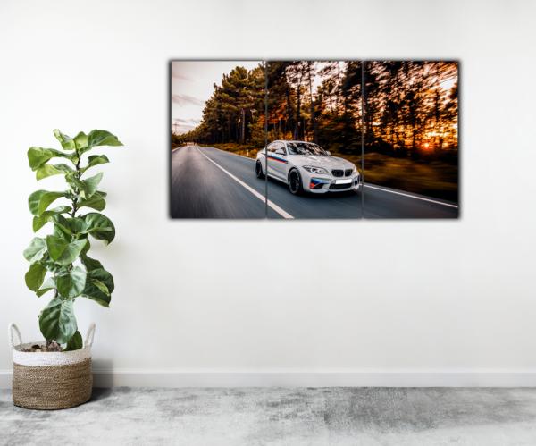 Tablou modern pe panou - luxury sport sedan 2