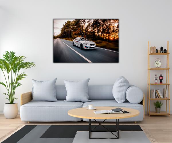 Tablou modern pe panou - luxury sport sedan 1