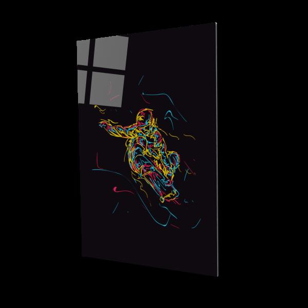 Tablou din sticla acrilica - Skateboard [0]