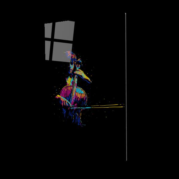 Tablou din sticla acrilica - Violoncelistul [0]