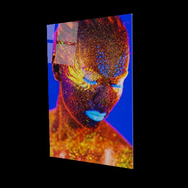 Tablou din sticla acrilica - painted women 0