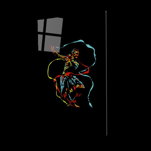 Tablou din sticla acrilica - Dansatorul [0]