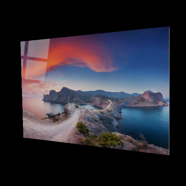 Tablou din sticla acrilica - beautiful landscape 0