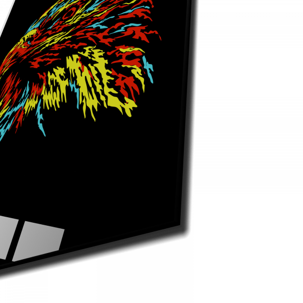 Tablou din sticla acrilica - abstract eagle 1
