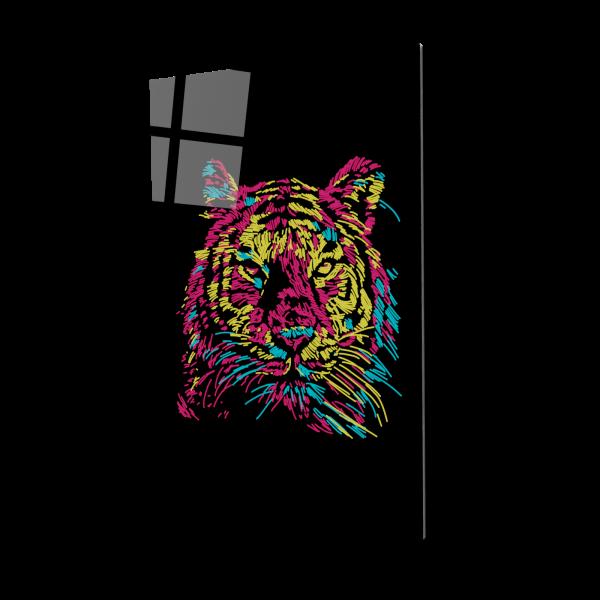 Tablou din sticla acrilica - Tigrul [0]