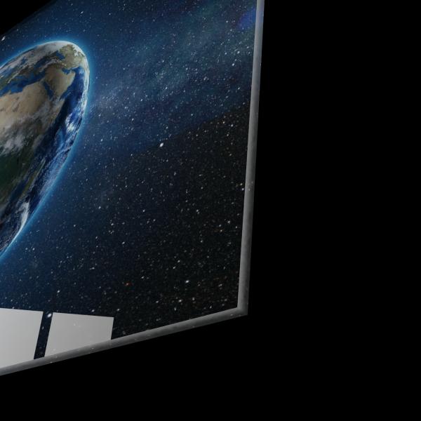 Tablou din sticla acrilica - planet earth 1