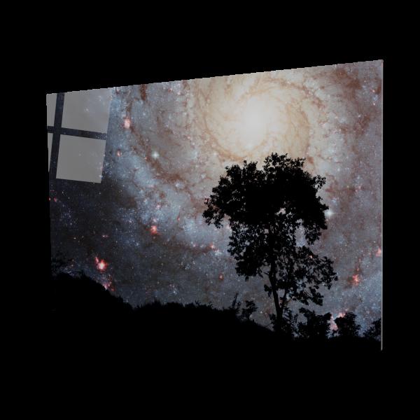 Tablou din sticla acrilica - Galaxie spirala [0]
