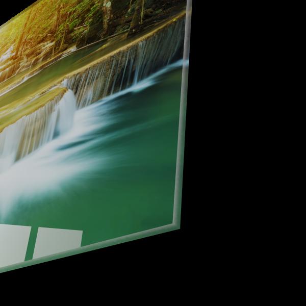 Tablou din sticla acrilica - waterfall 1