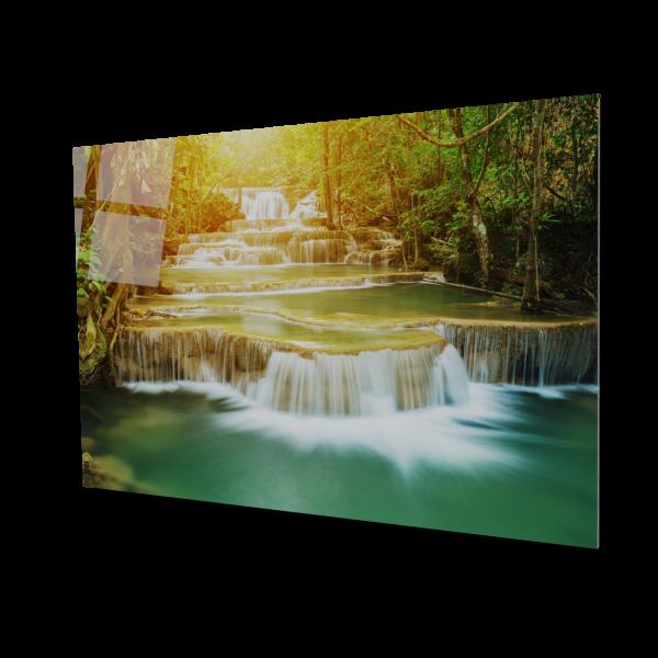 Tablou din sticla acrilica - waterfall 0