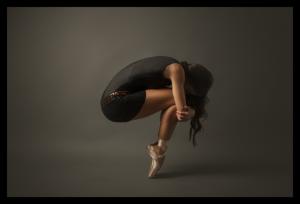Tablou modern pe panou - ballet dancer0