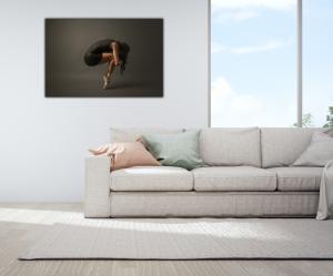 Tablou modern pe panou - ballet dancer3
