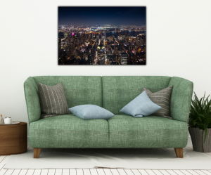 Tablou modern pe panou - panoramic aerial view Manhattan3