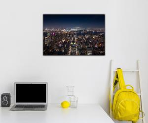 Tablou modern pe panou - panoramic aerial view Manhattan2