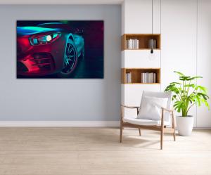 Tablou modern pe panou - beautiful sport car design4